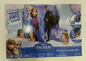 Disney-FROZEN-DELUXE-CHARACTER-HUT-Play-Structure-Brand-New