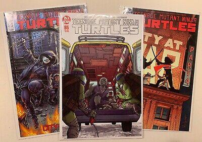 COVER A /& B 1ST FULL JENNIKA TEENAGE MUTANT NINJA TURTLES 95 TMNT 96 COVER NM