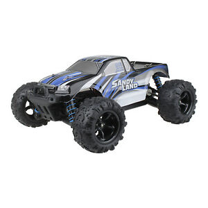 Radio-Remote-Control-1-18-2-4G-4WD-Sandy-Land-Monster-Truck-RC-Car-Toy-Blue-UK