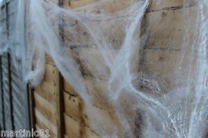 XL-85g-HALLOWEEN-SPIDER-WEB-WEBBING-8-SPIDERS-COBWEB-COB-WEBS-SCENE-DECORATION