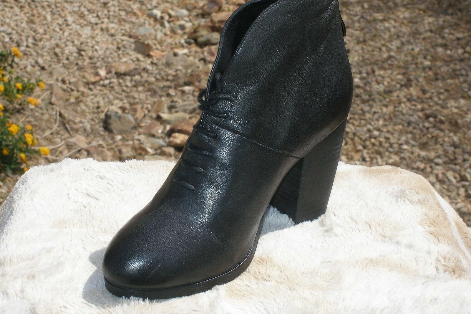 Antelope  772 Leather Ankle Boots Size