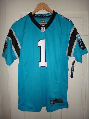 Youth Nike Cam Newton #1 Carolina Panthers NFL Blue Game Jersey | eBay