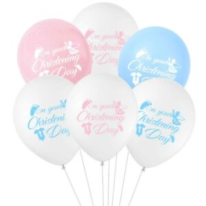 Baby-Baptism-Balloons-Christening-Baby-Shower-Decor-Latex-Balloon-10PCs-12inch