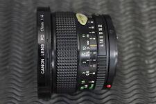 Canon FD 17mm f4  #18363