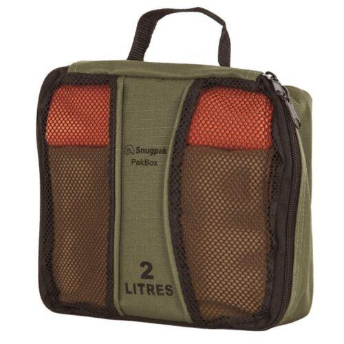 Snugpak Pakbox 2 Litre Travel Cube Luggage Organiser RUC386