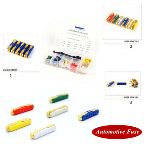 5A-30A Automotive Fuse Cylindrical Fuse Ceramic Tube Fast-blow Fuse  Protection