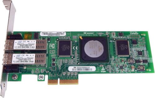 HP QLogic 4GB PCI-e Dual port Fiber Card QLE2462-HP PX2510401-69-C PX2510401-10