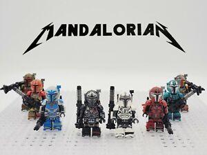 Star-Wars-Heavy-Armor-Mandalorians-Minifigures-Sets-Custom-Lots-USA-SELLER