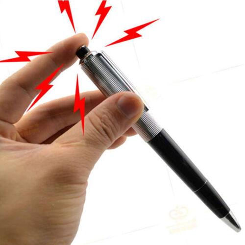Chic utilitaire 1pc Gadget Gag blague blague Trick Nouveauté Jouet Cadeau électrique shockpen