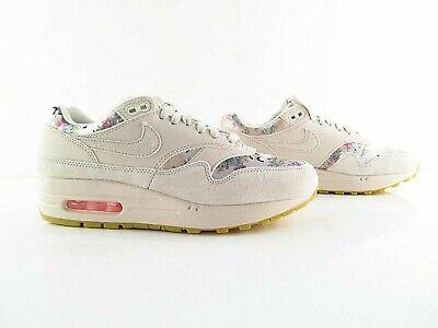 Nike Air Max 1 Desert Sand Floral 90 New US_7.588.5 Eur_38.5 39 40 | eBay