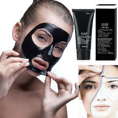 Pilaten Black Mud Face Mask Blackhead Remover Deep Cleansing Peel Acne Treatment