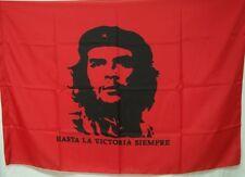 BANDIERA ROSSA POLIESTERE ECONOMICA CHE GUEVARA FLAG HASTA LA VICTORIA SIEMPRE