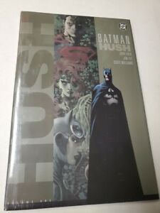 Batman Hush Volume 1 Hardcover HC Graphic Novel Jeph Loeb Jim Lee DC 2004 First