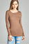 Basic-Long-Sleeve-Solid-Top-Womens-Plain-Cotton-T-Shirt-Stretch-Tight-Crew-Neck thumbnail 11