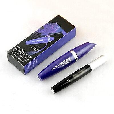 2Pcs Lash Extension Eyelash Long Curling Black Mascara + 3D Fiber Lashes