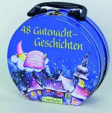 48 Gutenacht Geschichten Hörspiele im Hörbuchkoffer 5x CD,s Neu