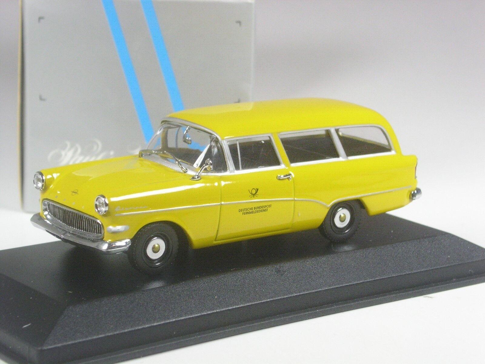 TOP  Minichamps Opel Rekord P1 Caravan Bundespost in 1 43 in OVP