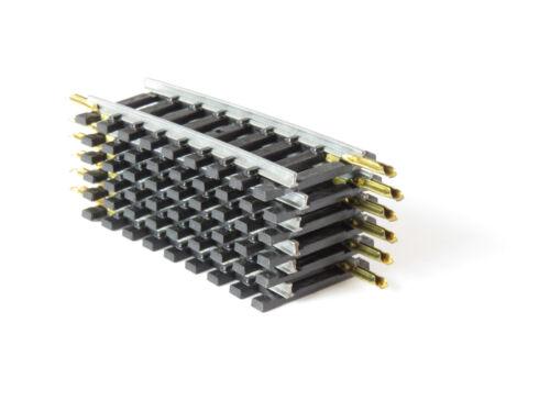 JOUEF LOT 6 RAILS COURBES ACIER R 325 mm REF 4704 ou 470//4 ECHELLE H0 1//87