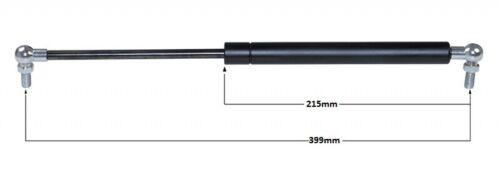 Gasdruckdämpfer Gasdruckfeder Dämpfer 399 mm 250 N Kugelgelenk 90° 19942