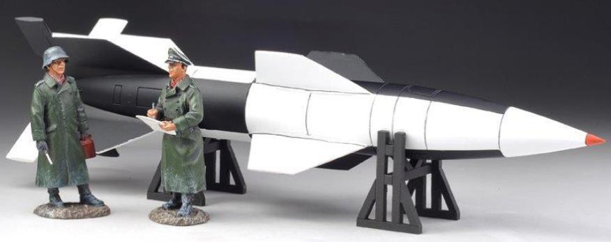 THOMAS GUNN WW2 GERMAN LUFTWAFFE V013B WASSERFALL WASSERFALL ROCKET SET WINTER VERSION MIB