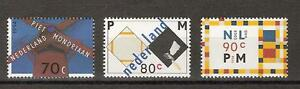 NVPH-Nederland-Netherlands-1595-1597-MNH-1994-PIET-MONDRIAAN