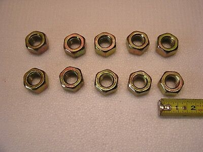 QTY 100 3//4-10 2H Structural Finished Hex Nuts for A325 Bolts Galvanized