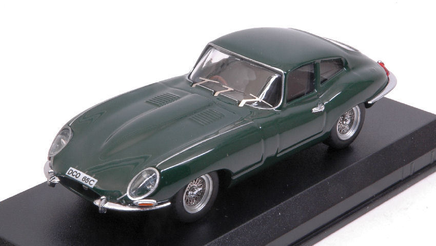Jaguar E Coupe' 1962 Green 1 43 Model BEST MODELS