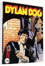 DYLAN DOG n. 12 KILLER! PRIMA STAMPA ORIGINALE EDIZIONE BONELLI BEN SQUADRATO