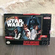 Super Star Wars Super NES Nintendo SNES US en Boite SNS-V4-USA NTSC Tested
