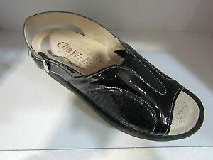 Pantofole Sandali Regolabili Sabot Estraibili Cliawalk Donna 58 Nero Scarpe qUBRFR