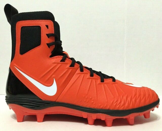 Enfatizar capitalismo panel  Nike Force Savage Varsity Mens High Top Football Cleats Size 10 Orange  Black for sale online | eBay
