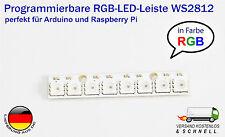 RGB LED Leiste WS2812 WS2811 5050 8Bit 5V für Arduino Raspberry Pi ähnl Neopixel