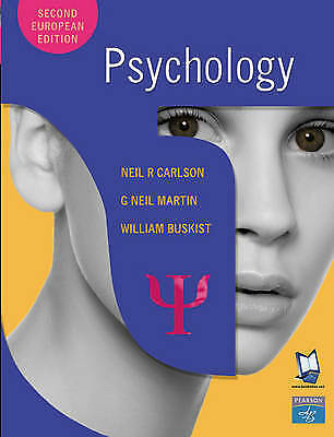 Psychology by Neil R. Carlson, Neil Martin, William Buskist (Paperback, 2003)