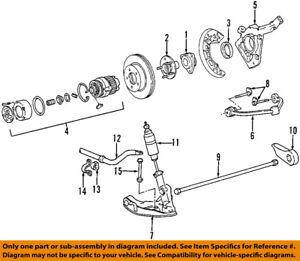 s l300 ford oem 01 04 explorer sport trac front suspension shock absorber