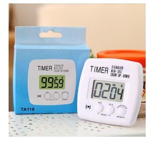 xx Digital Kitchen Timer Ta118 Temporizzatore Digitale Cucina Con Allarme 24Ore