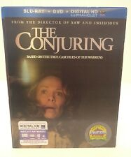 The Conjuring (Blu-ray Disc, 2016) New with Slipcover