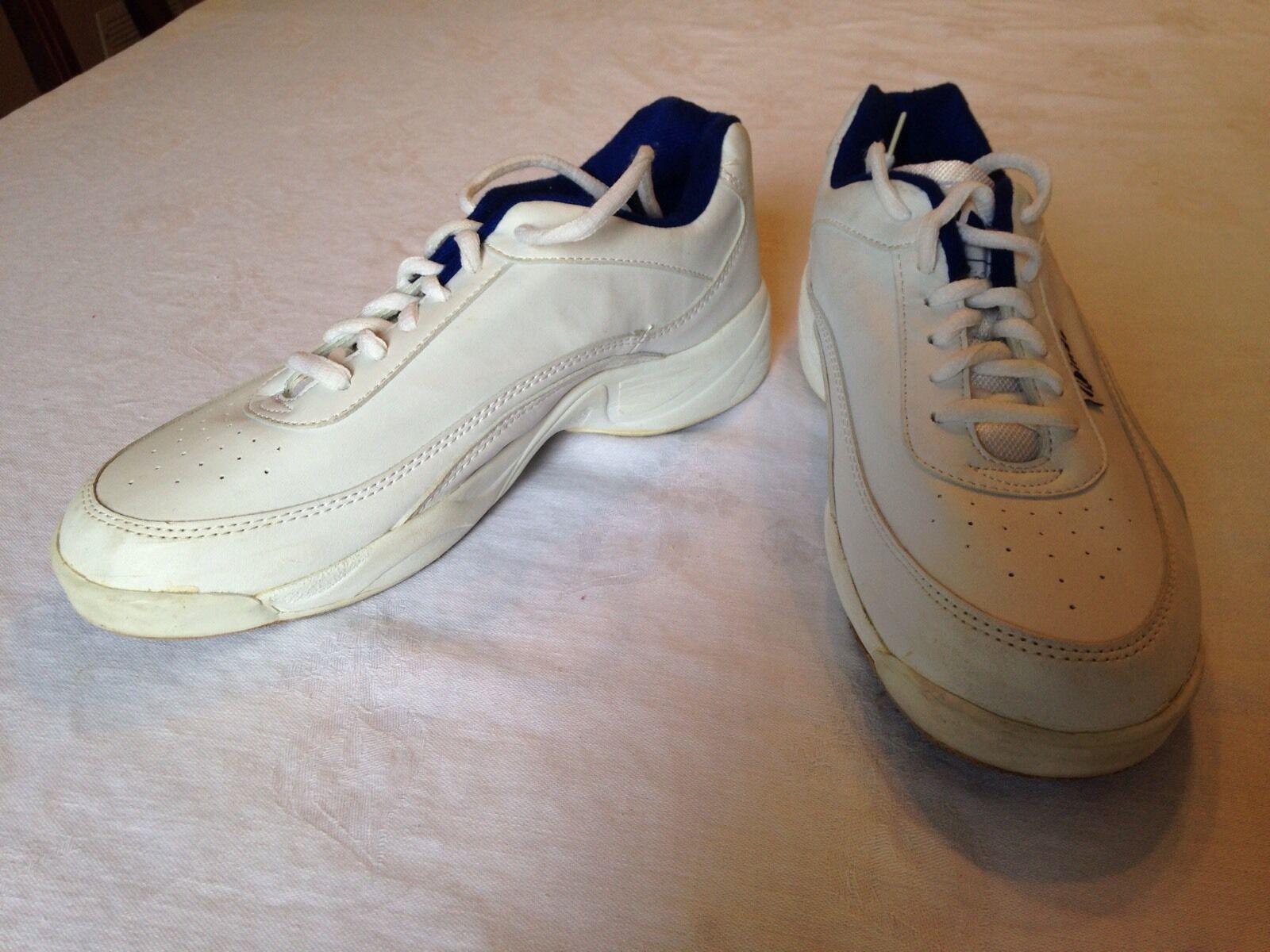 018e34f33 Linds Bowling shoes White Men s Size 8 Navy nwezgc1738-Men - garden ...