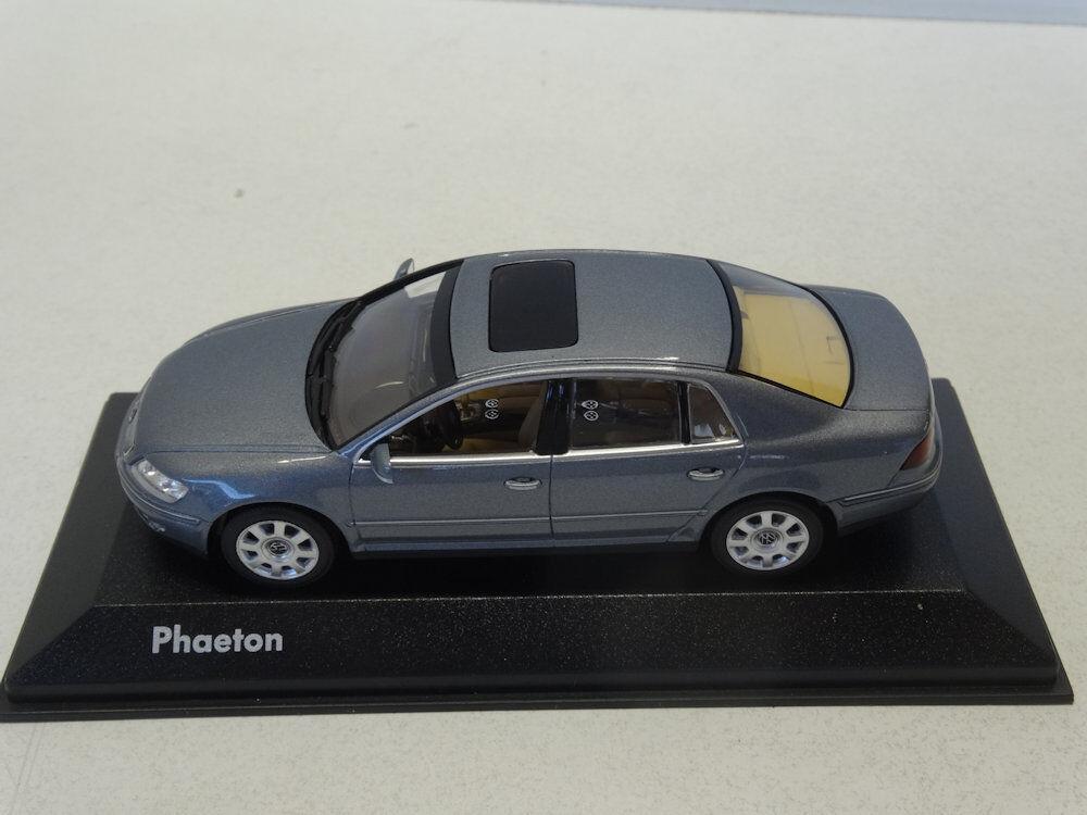 Minichamps  VW Phaeton 2007 2007 2007 Facelift Coucougrey Metallic 3D0099300GPR7Q c2f555