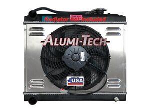 Image Is Loading Mahindra Roxor Spal Electric Radiator Fan Conversion W
