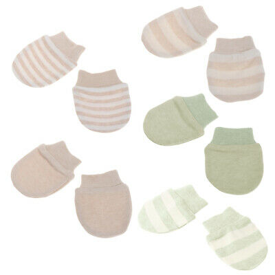 Baby Gloves Anti Scratching Newborn Protection Face Cotton Scratch Mittens New