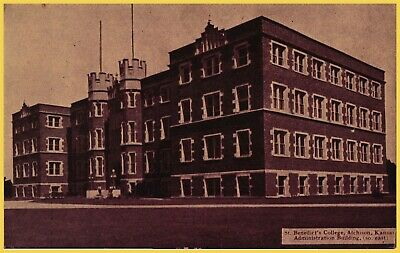 ADMINISTRATION BUILDING, ST. BENEDICTS COLLEGE. ATCHISON