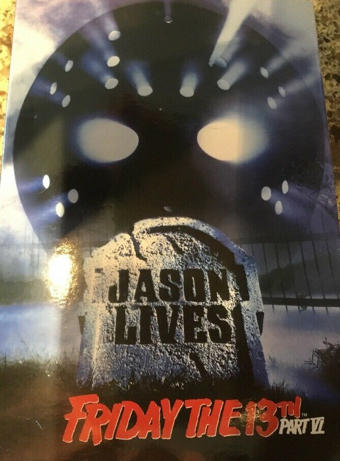 Friday The 13th jason Voorhees action figure Part 6 6 6 NECA 5b8f8e
