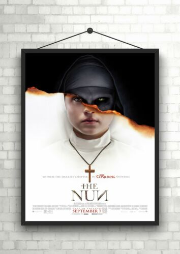 The Nun Horror Large Movie Poster Art Print A0 A1 A2 A3 A4 Maxi