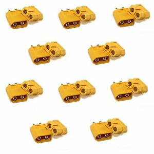 10 Pairs XT-60 XT60 Male Female Bullet Connectors Plugs For RC Lipo Battery SERV
