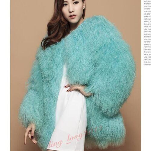 agnello delle delle agnello pecore di inverno caldo Outwear di donne pelliccia di Cappotto della pelliccia di caldo zxYTpwp