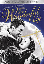 It's A Wonderful Life  (DVD, 2016 - 2 Disc Platinum Anniversary Edition)  New