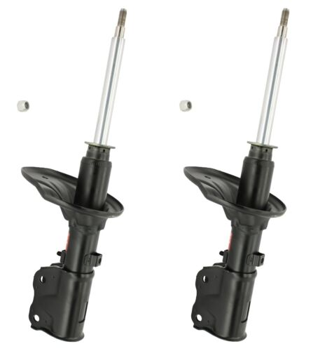 Pair Set of 2 Front KYB Excel-G Struts For Dodge Plymouth Colt Mitsubishi Mirage