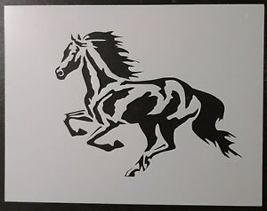 "344 3 Horses Running Horse Pony 11/"" x 8.5/"" Custom Stencil FAST FREE SHIPPING"