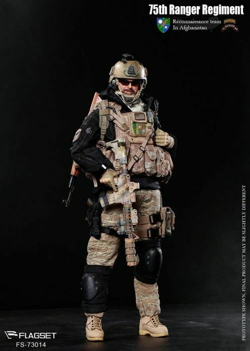 FLAGSET 1 6 scale 73014 75th Ranger Regiment in Afghanistan