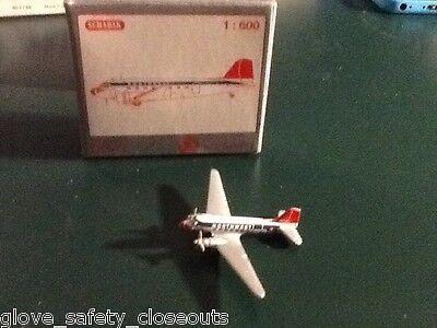 New schabak 1:600 Diecast  Douglas DC-3 Northwest Airlines in original box